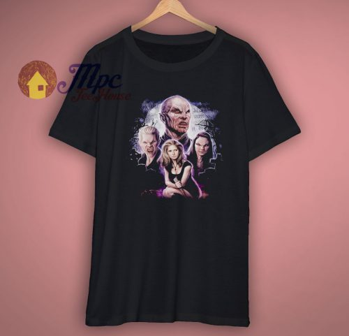 Buffy The Vampire Slayer Fan Art Slayer Spike The Master T Shirt