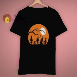 Chewbacca Star Wars Vader Halloween Pumpkin T Shirt