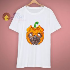 Cute Pugs Funny Pugkin Happy Halloween T Shirt