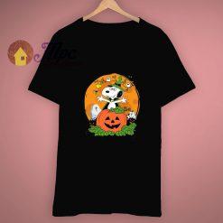 Ghost Bat Family Snoopy Pumpkin Halloween T Shirt