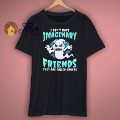 Ghost Halloween Funny Scary Spooky T Shirt