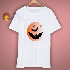 Halloween Flying Bats Scary T Shirt