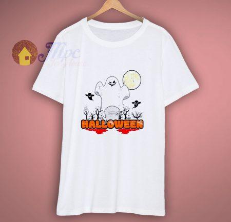 Halloween Season Greetings Ghost T Shirt
