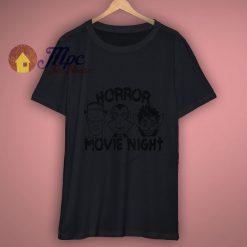 Horror Movie Night T Shirt