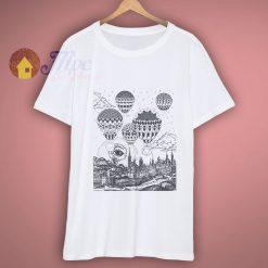 Hot Air Balloon Mandala T Shirt