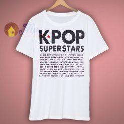 K POP Superstars Shirt