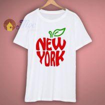 New York City Big Red Apple T Shirt