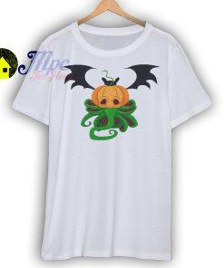 Pumpkin Cthulhu T Shirt
