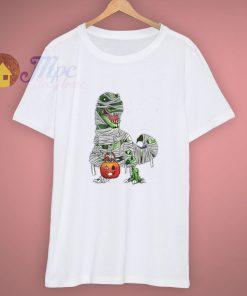 Pumpkin Dinosaur Mummy Cute T Shirt