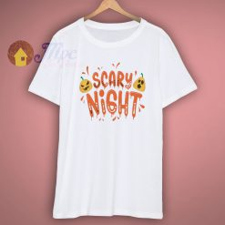 Scary Night Halloween T Shirt