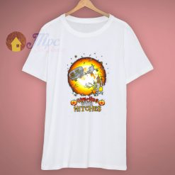 Scary Witches With Hitches Halloween T Shirt