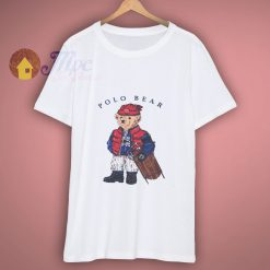 The Stylish Teddy Polo Bear T Shirt