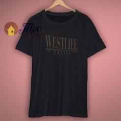 Westlife The Twenty Tour T shirt