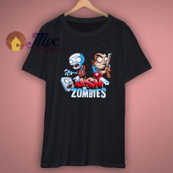 Zombies T Shirt Funny Groovy Halloween New