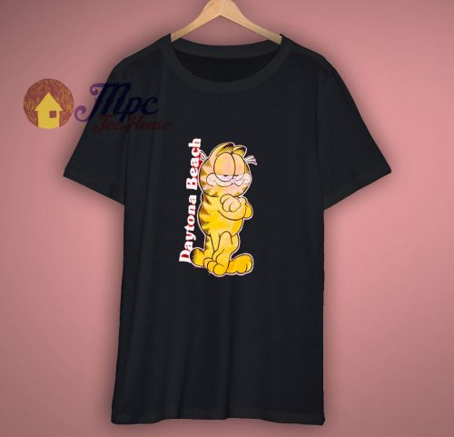 Garfield Cartoon Daytona Beach Florida GT Shirt
