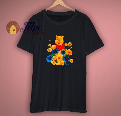 90s Winnie The Pooh Flower Shirt