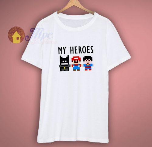 All Superhero Character Shirt
