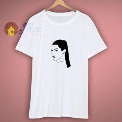 Bella Hadid Vector Design Shirt