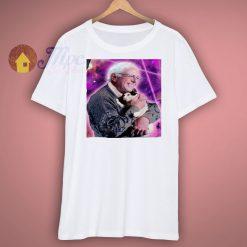 Bernie Sanders cat lasers tshirt