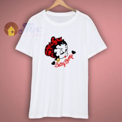 Betty Boop Kiss With Wink Cartoon Shirt