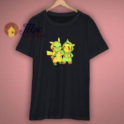 Charmander Hitokage Pikachu Shirt