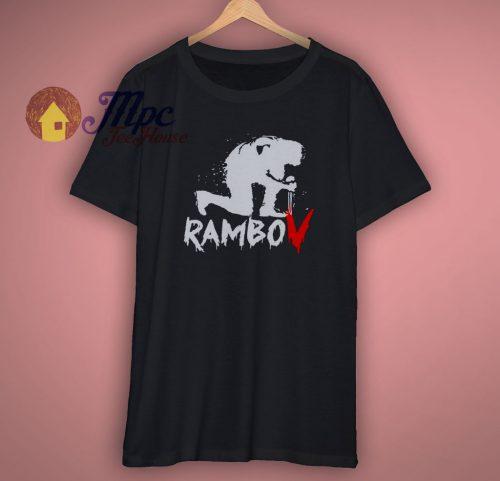 Cheap Rambo V New Posters Shirt