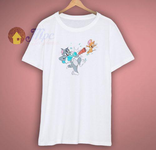 Cheap Tom and Jerry Art Shirt