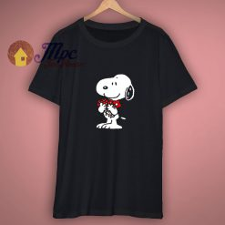 Cloud Space Snoopy T Shirt