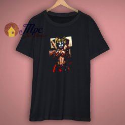 Deadpool Harley Quinn Comic T Shirt