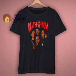Death Row Records Vintage Inspired T Shirt
