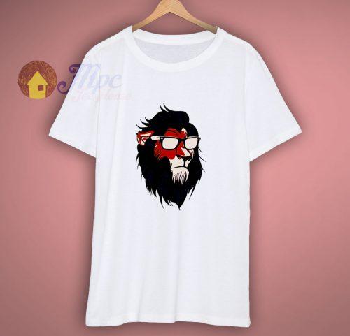 Disney Lion King Goggles Glasses Shirt