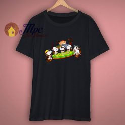 For Peanuts Poker Party Snoopy Shirt