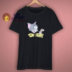 For Sale The Vintage Tom Jerry Black Shirt