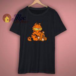 Garfield The Cat Cartoon Graphic T Shirt
