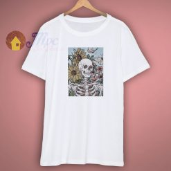 Get Buy The Sunflowers Skeleton Shirt