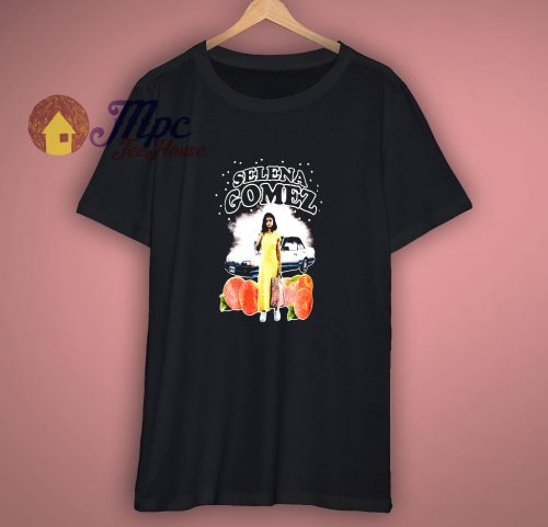 Girls Black Selena Gomez Shirt