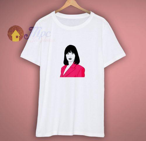 Lady In Pink Bella Hadid Shirt