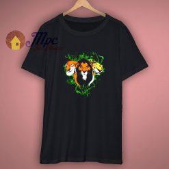 Lion King Scar Disney Old School Shirt