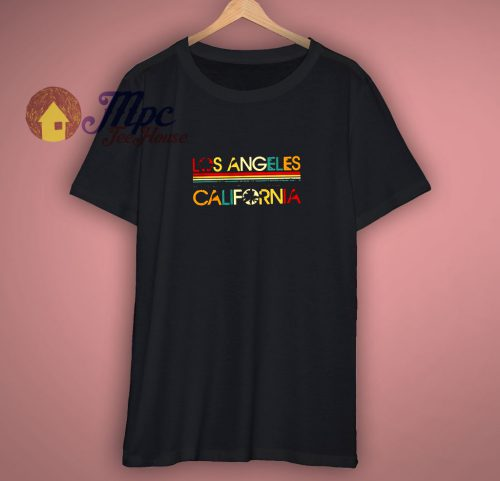 Los Angeles California Vintage Shirt