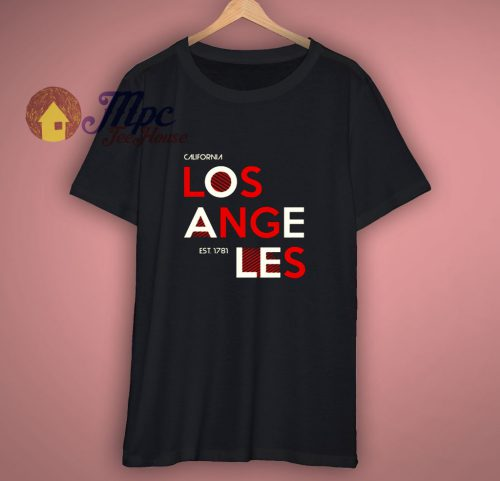 Los Angeles Grafit T Shirt