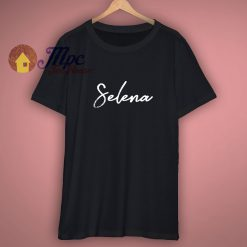 My Name Is Selena T Shirt