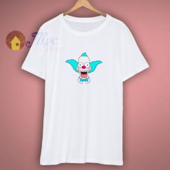 New The Simpsons Krusty Clown Graphic Shirt
