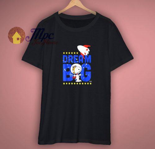 Peanuts Snoopy Astronaut Dream T-Shirt