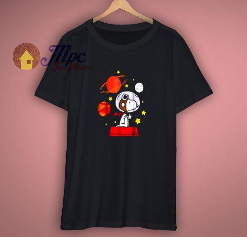 Peanuts Snoopy Space Pilot T Shirt