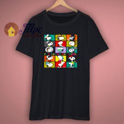 Peanuts Snoopy You Can Be Anything T Shirt