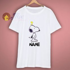 Personalized Snoopy And Woodstock Shirt