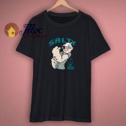 Popeye Salty Since 1929 Charcoal Shirts
