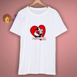 Popeye Sweethearts Kids White Shirt