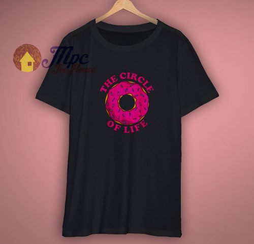 Pretty The Circle Of Life Donut Shirt