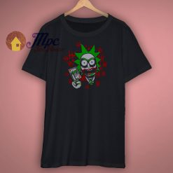 Rick Sanchez As Joker Funny Shirt